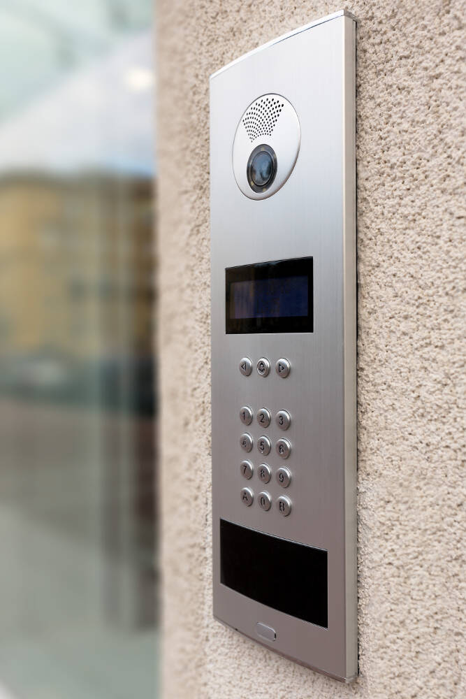 Door access control system installer in hastings sussex dna for Door entry systems